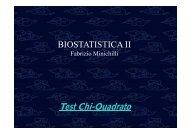 BIOSTATISTICA II
