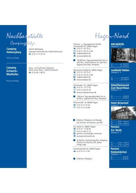 Hotels Pensionen Ferienwohnungen ... - Stempel-Mekka