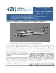 Se inicia el juicio oral por irregularidades en la compra de un helicóptero