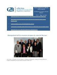 Participación de la OA en encuentro de órganos de control del Mercosur