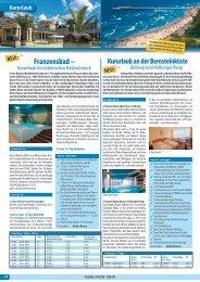 Kururlaub Franzensbad - Gerken-Reisen