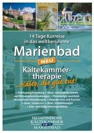 14 Tage Kurreise in das weltberühmte Marienbad - Jowie Reisen