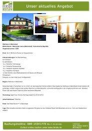 Aktuelles Angebot: Wellness in Marienbad