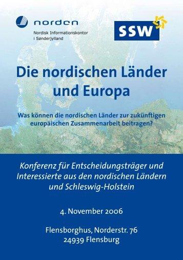 Die nordischen Länder und Europa