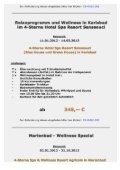 im 4-Sterne Hotel Spa Resort Sanssouci in Karlsbad - DCS Touristik - Page 2