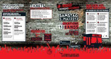rock & pop covermusik - 1. Nottulner Kneipenfestival