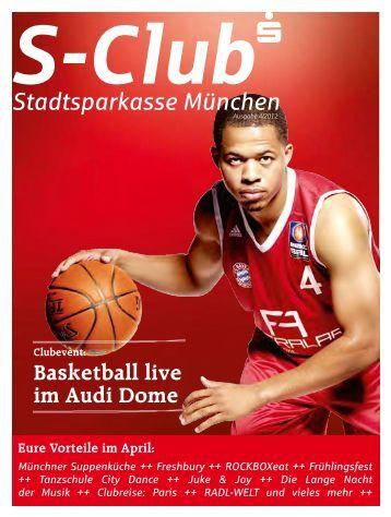 Basketball live im Audi Dome - Stadtsparkasse München