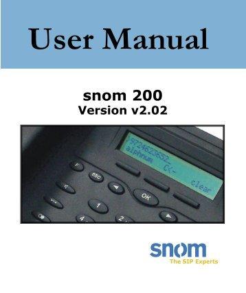 snom one telephone system cheat sheet maxicom rh yumpu com Snom 370 Manual Snom Logo