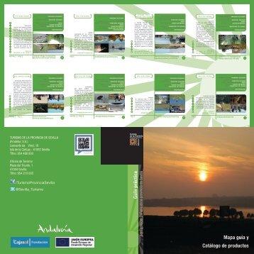 folleto guía 21X21 - Turismo de la Provincia de Sevilla