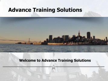 Advance Training Solutions