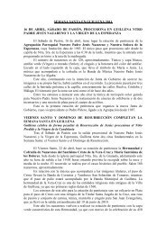 Semana Santa en Guillena - Turismo de la Provincia de Sevilla