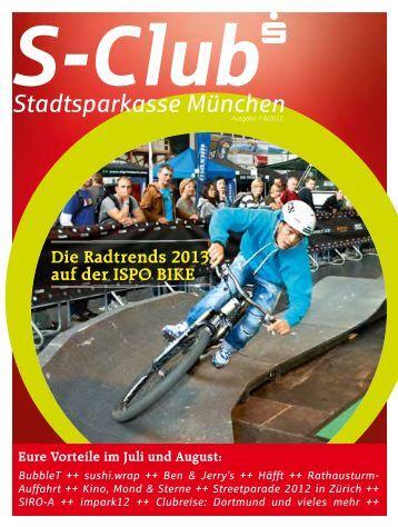 Die Radtrends 2013 auf der ISPO BIKE - Stadtsparkasse München