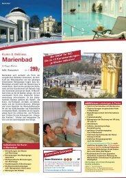 Kuren & Wellness Marienbad | Böhmisches Bäderdreieck