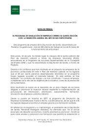 NP Clausura Piles V - Turismo de la Provincia de Sevilla