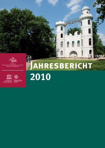 II. Chronik - Stiftung Preußische Schlösser und Gärten