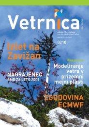 Vetrnica 02/10 - Junij 2010 (pdf, 24 Mb) - Slovensko meteorološko ...