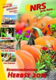 Herbst 2012 - NRS gute Reise
