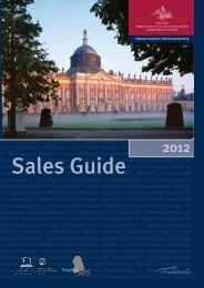 Sales Guide 2012 - Stiftung Preußische Schlösser und Gärten