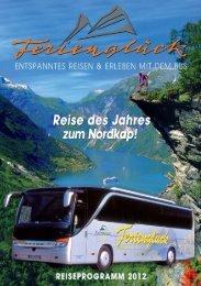 Reisekatalog 2012 - Reisebüro Ferienglück