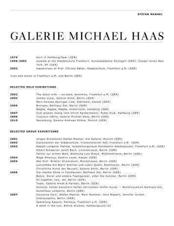 Download - Galerie Michael Haas
