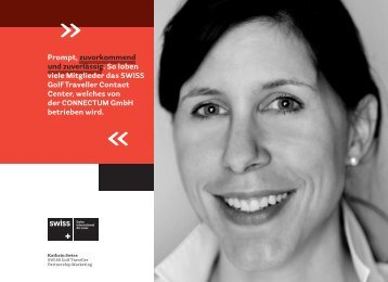 Broschüre mit Text - Connectum GmbH