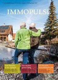 Das Immobilienmagazin von Swiss Life // Ausgabe 3 // Frühling /Sommer 2015