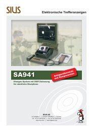 Elektronische Trefferanzeigen - Sius AG
