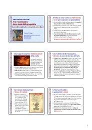 1 Arte e matematica: breve storia della prospettiva - Dipartimento di ...