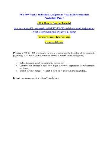 apa psychology paper