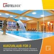 Hotelkatalog - Hotelbox