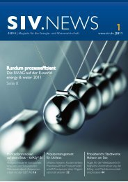 Rundum prozesseffizient - SIV.AG