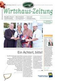 Ihr Weg zum Wirt - Niederösterreichische Wirtshauskultur
