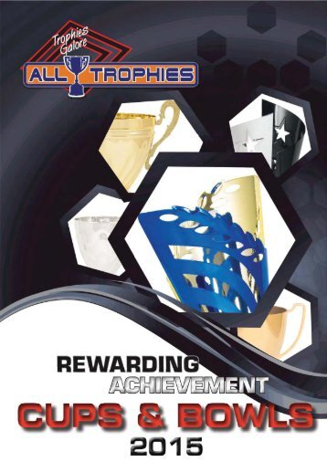 ALL TROPHIES: Cups and Bowls