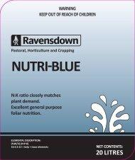 NUTRI-BLUE