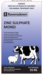 ZINC SULPHATE MONO