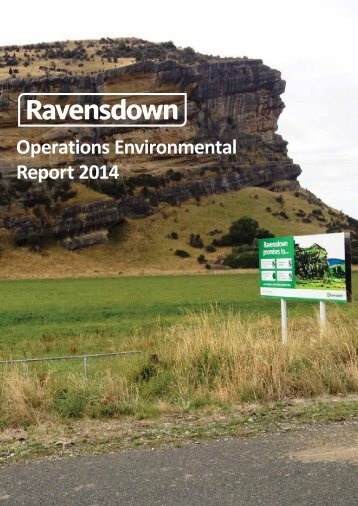 Operations Environmental Report 2014