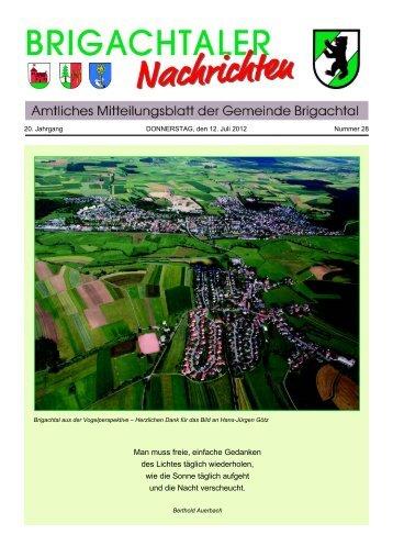 Herzlich willkommen zum 28. Brigachtaler Dorffest vom 21.