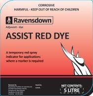 ASSIST RED DYE
