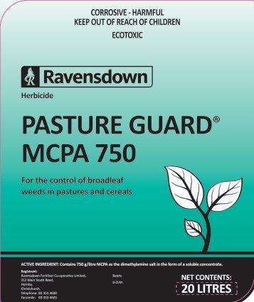 PASTURE GUARD MCPA 750