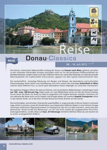 Montag Montag, 09. Juli 2012 - Donau-Classics