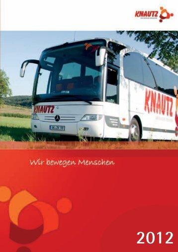 Knautz-Reisen Katalog 2012