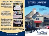 DIME BANK FOUNDATION