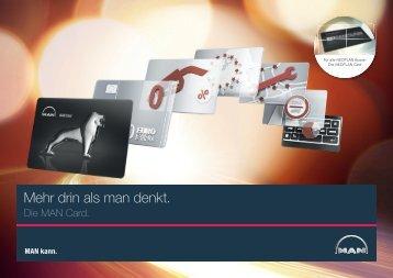 Servicebroschüre MAN Card