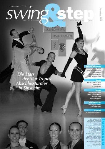 Die Stars der Star Trophy Abschlussturnier in Sinsheim - DTV