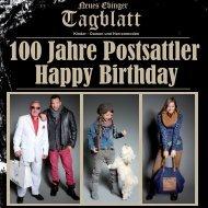 100 Jahre Postsattler... Lass keinen Tag ohne Freude vergehen. Als ...