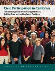 Civic Participation in California