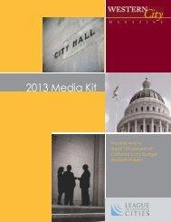 2013 Media Kit - Western City