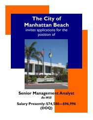 Senior Management Analyst, Exam No. 11-039.pub - Western City