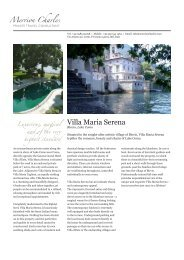 Villa Maria Serena - Merrion Charles