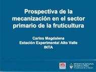mecanización en el sector primario de la fruticultura